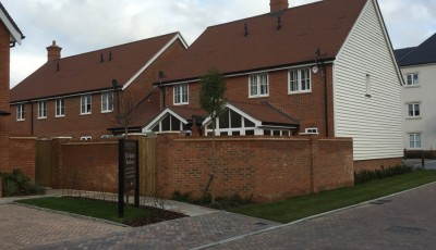 Residential Brickwork for Berkeley Homes, Horsham